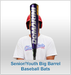 Youth Big Barrel Baseball Bats