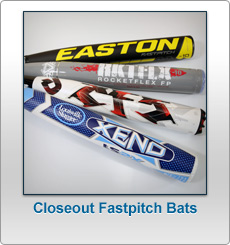 Closeout Fastpitch Softball Bats