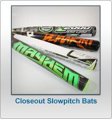 Closeout Slowpitch Softball Bats
