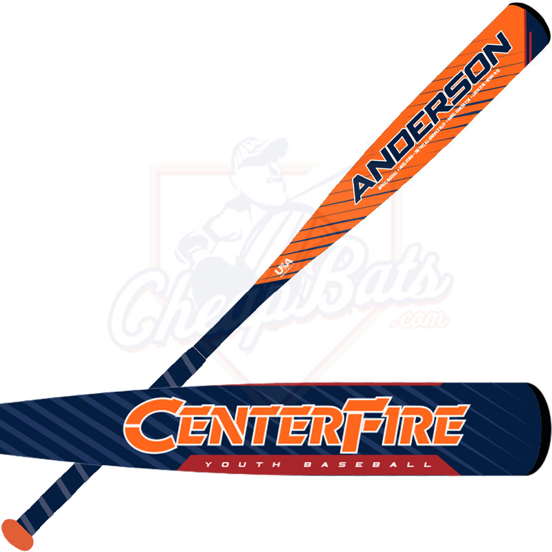 2019 Anderson Centerfire Youth USA Baseball Bat -10oz 015036