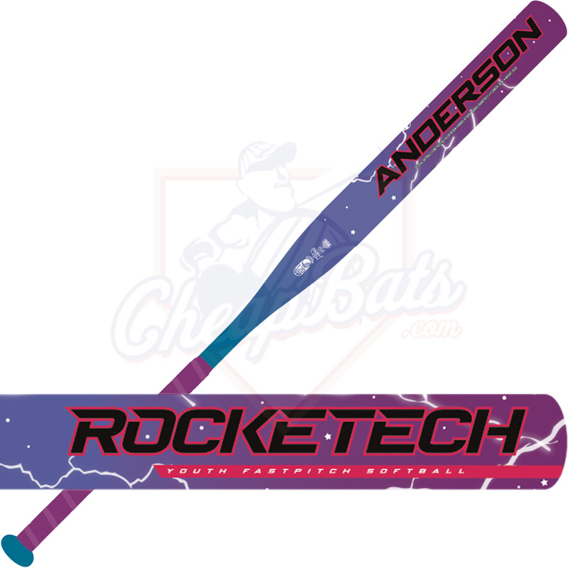 2019 Anderson RockeTech Youth Fastpitch Softball Bat -12oz 017039