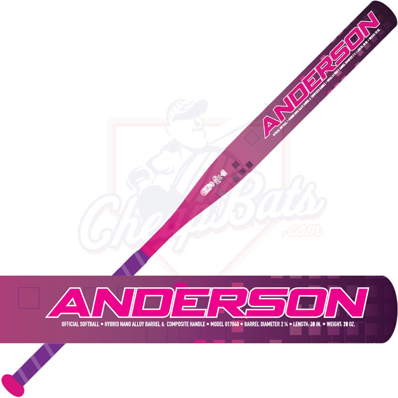 2019 Anderson Supernova Fastpitch Softball Bat -11oz 017040