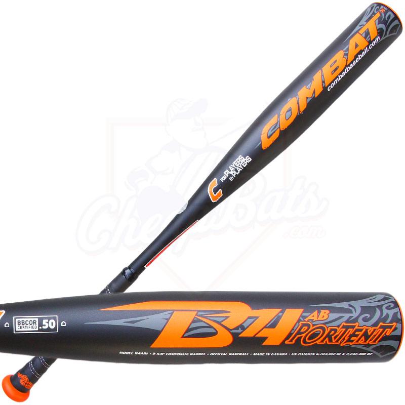 Combat b4 portent adult bbcor baseball bat 3oz b4ab1 for Combat portent youth baseball bat