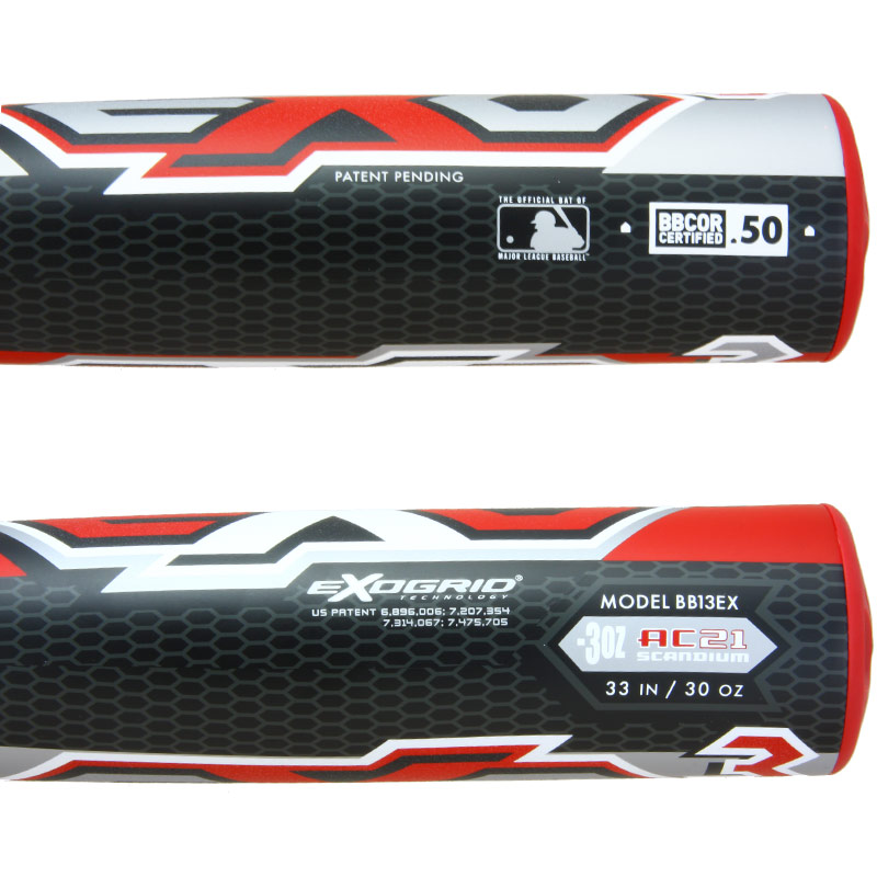 2013 Louisville Slugger Exogrid 3 BBCOR Baseball Bat BB13EX