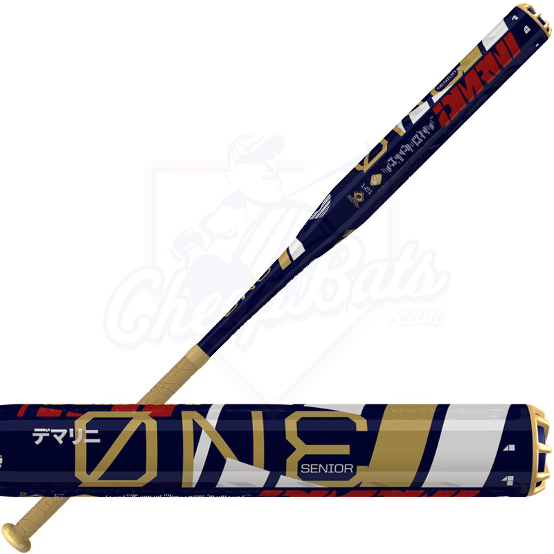 2015 DeMarini ONE Senior Slowpitch Softball Bat Balanced SSUSA WTDXSNB-15