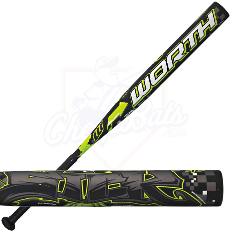 2015 Worth Sick 454 Fastpitch Softball Bat -10oz FPSK10