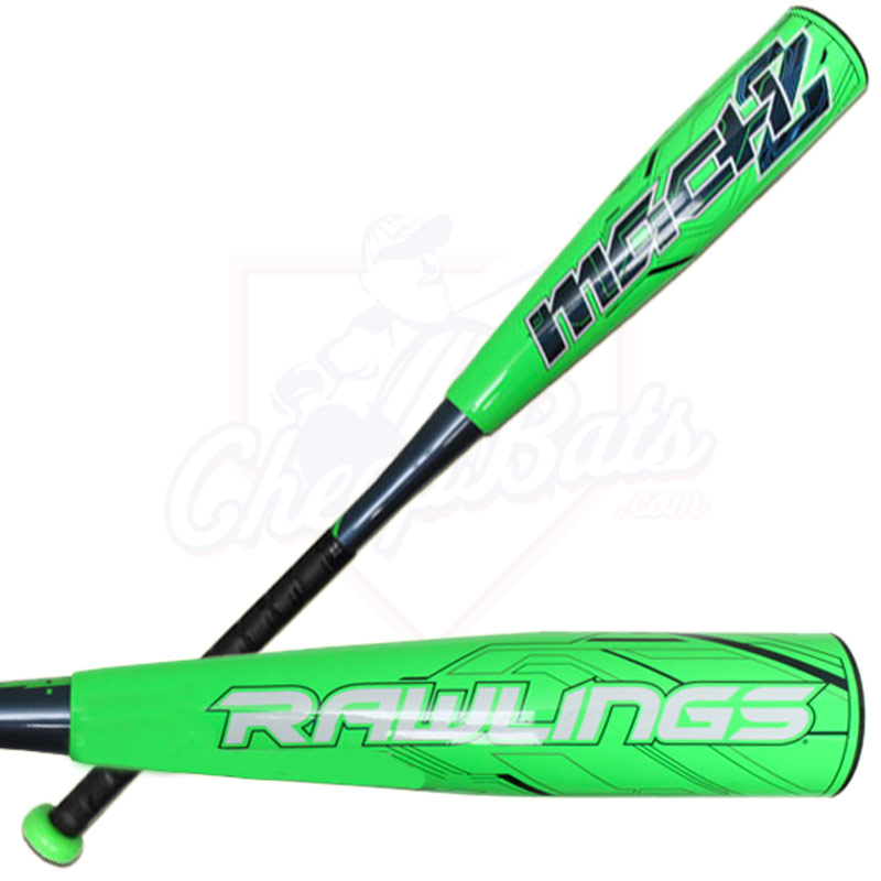 2015 Rawlings MACH 2 Senior League Baseball Bat -12oz SLRM34
