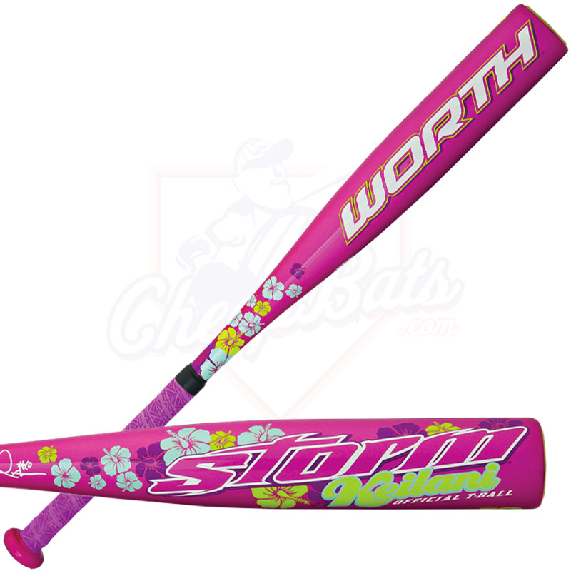 2015 Worth Storm Alloy Youth Fastpitch/Tee Ball Bat -12oz TBSTKR