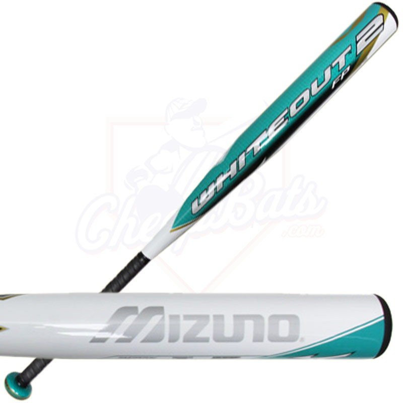2015 Mizuno Whiteout 2 Balanced Fastpitch Softball Bat -10oz 340305