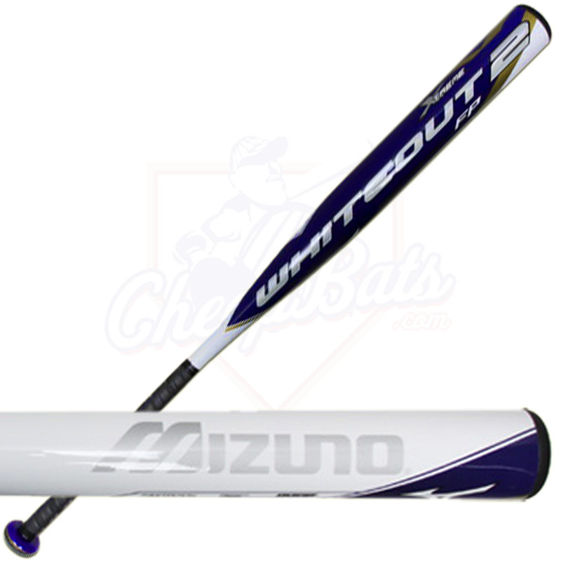2015 Mizuno Whiteout 2 Xtreme End Loaded Fastpitch Softball Bat -9oz 340307