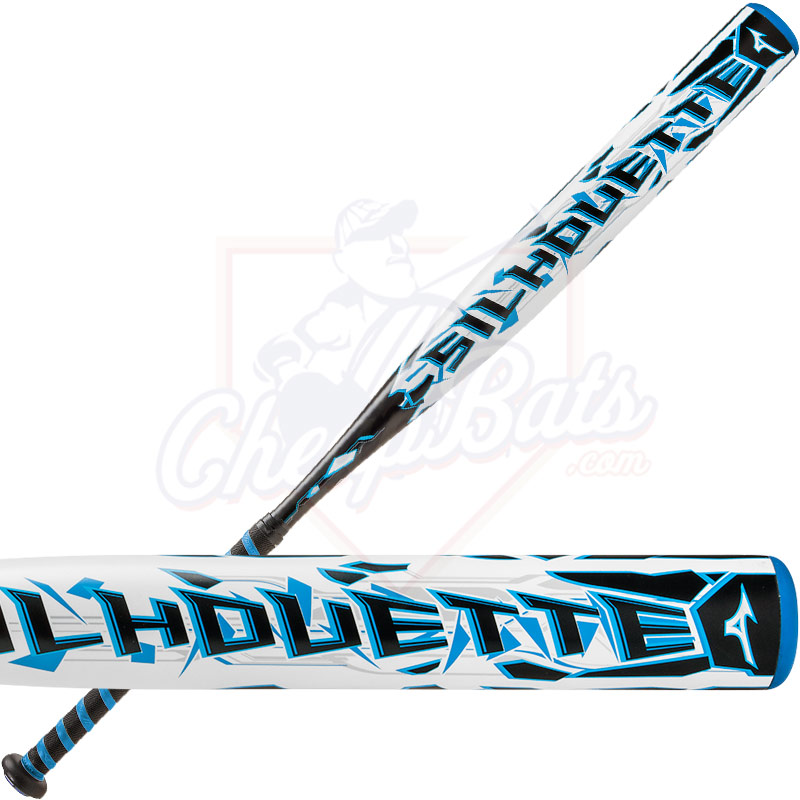 2017 Mizuno Silhouette Fastpitch Softball Bat -10oz 340386