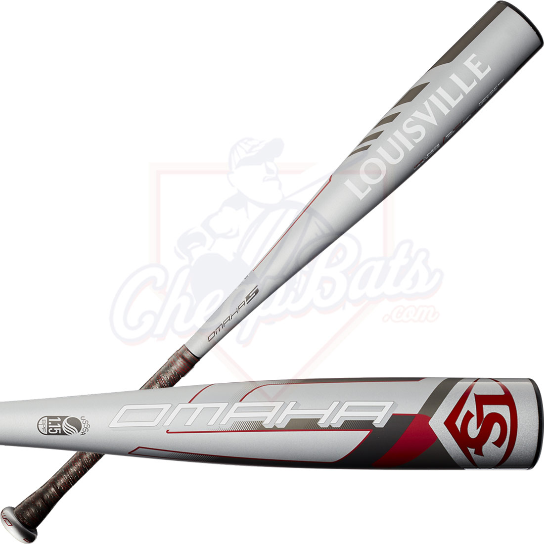2020 Louisville Slugger Omaha Youth USSSA Baseball Bat -10oz WTLSLO5X1020