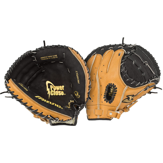 "Mizuno Prospect Baseball Catchers Mitt 32.5"" GXC105"