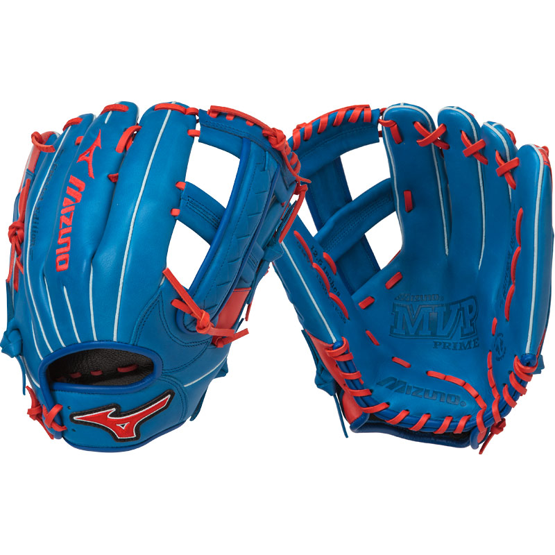 "Mizuno MVP Prime SE Slowpitch Softball Glove 12.50"" Royal/Red GMVP1250PSES5 312477"