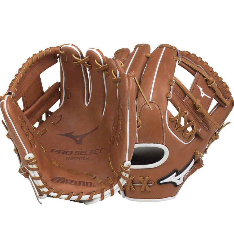"Mizuno Pro Select Fastpitch Softball Glove 11.75"" GPSF1175 312511"