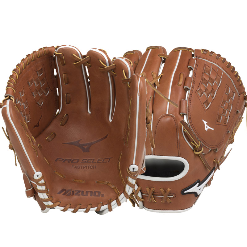 "Mizuno Pro Select Fastpitch Softball Glove 12.5"" GPSF1250 312513"