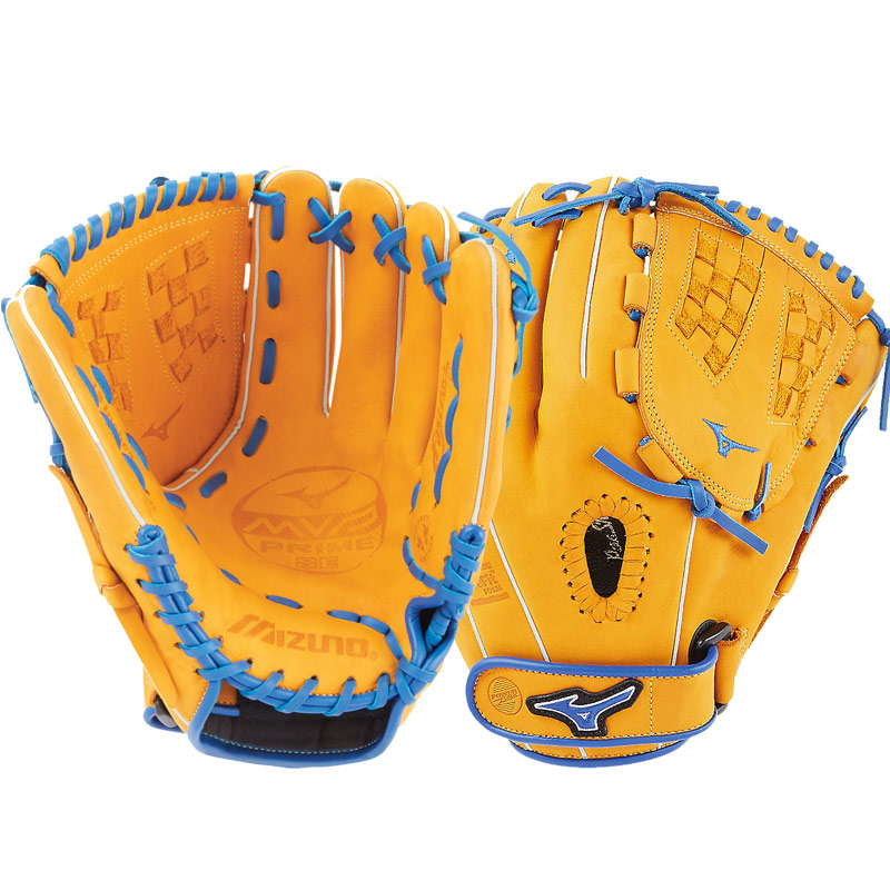 "Mizuno MVP Prime SE Fastpitch Softball Glove 12.5"" Cork/Royal GMVP1250PSEF6 312519"