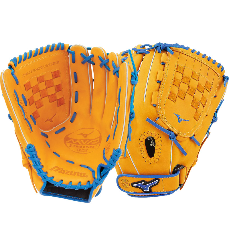 "Mizuno MVP Prime SE Fastpitch Softball Glove 13"" Cork/Royal GMVP1300PSEF6 312520"