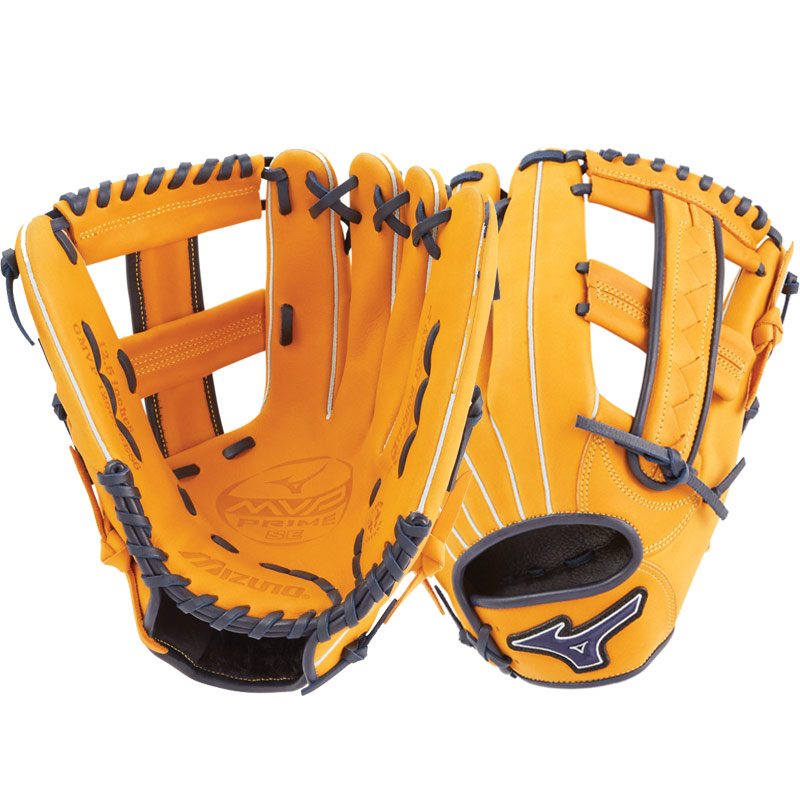 "Mizuno MVP Prime SE Slowpitch Softball Glove 12.5"" Cork/Navy GMVP1250PSES6 312528"