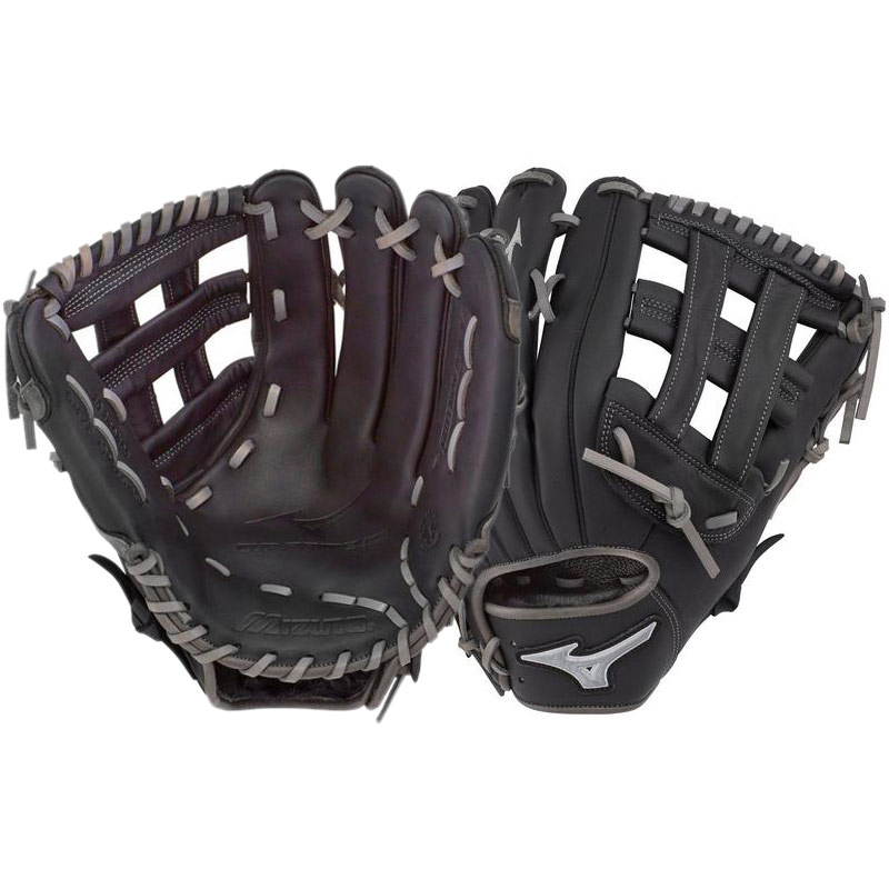 "Mizuno MVP Prime SE Slowpitch Softball Glove 13"" Black/Smoke GMVP1300PSES7 312647"