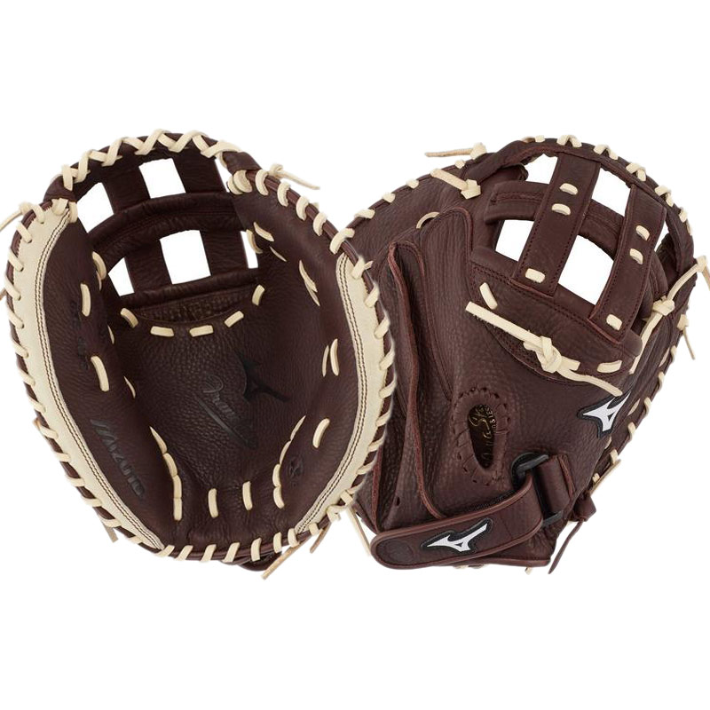 "Mizuno Franchise Fastpitch Softball Catcher\'s Mitt 34"" GXS90F3 312745"