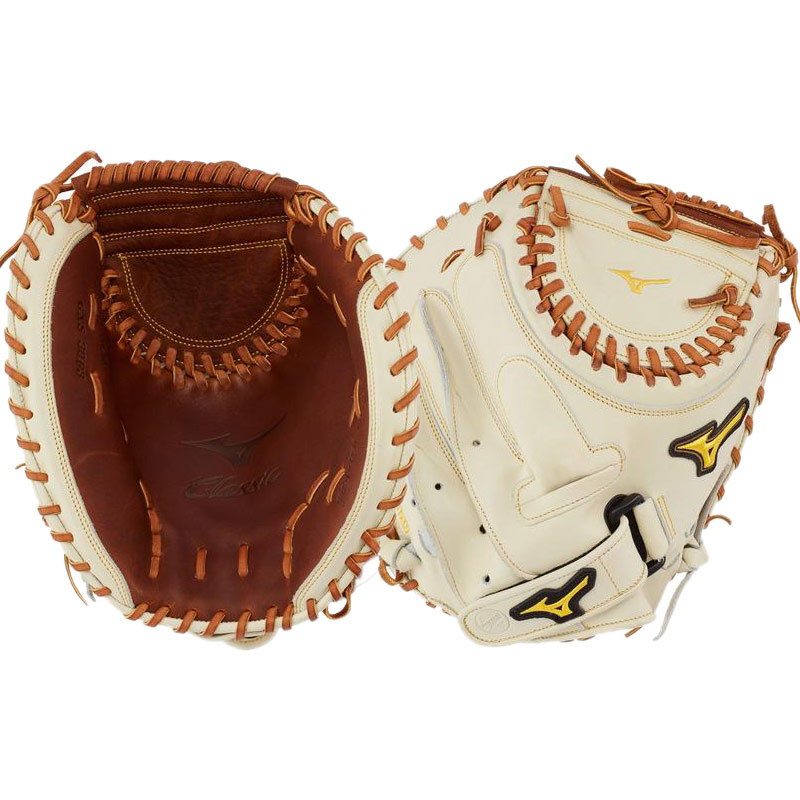 "Mizuno Classic Fastpitch Softball Catcher\'s Mitt 34.5"" GXS30F3 312776"