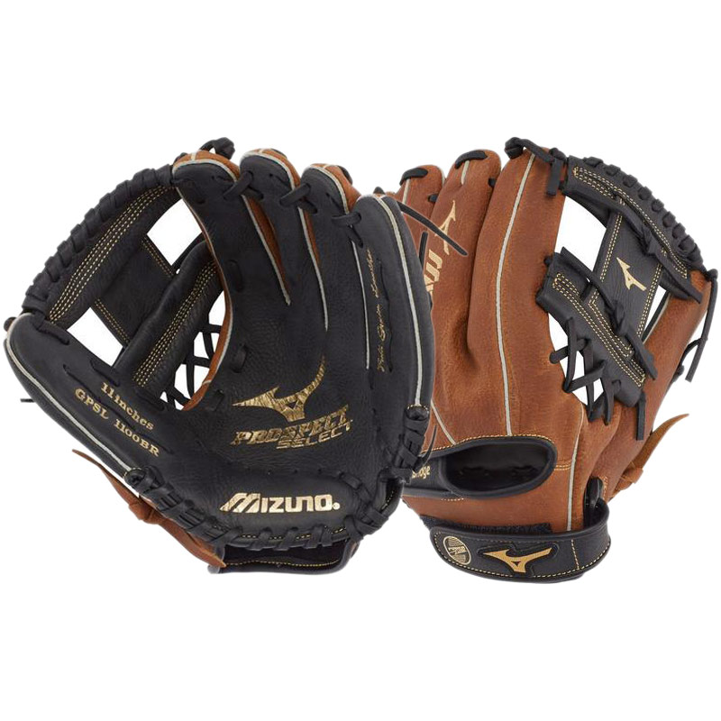 "Mizuno Prospect Select Youth Baseball Glove 11"" GPSL1100BR 312784"