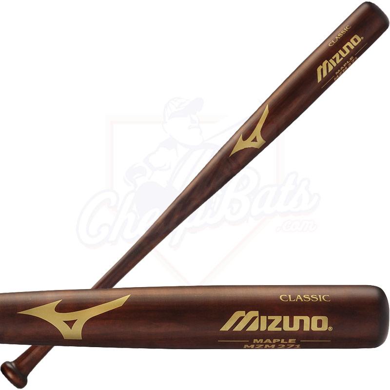 Mizuno Youth Maple Wood Baseball Bat Mzm271
