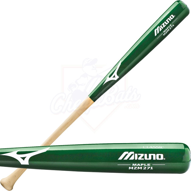 2014 Mizuno Classic Maple Wood Baseball Bat MZM271 GREEN