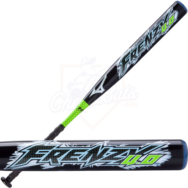 Mizuno Frenzy 4.0 Fastpitch Softball Bat -10oz 340248