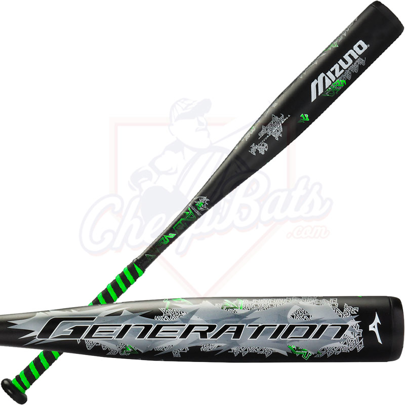 2016 Mizuno GENERATION Youth Big Barrel Baseball Bat -10oz 340355