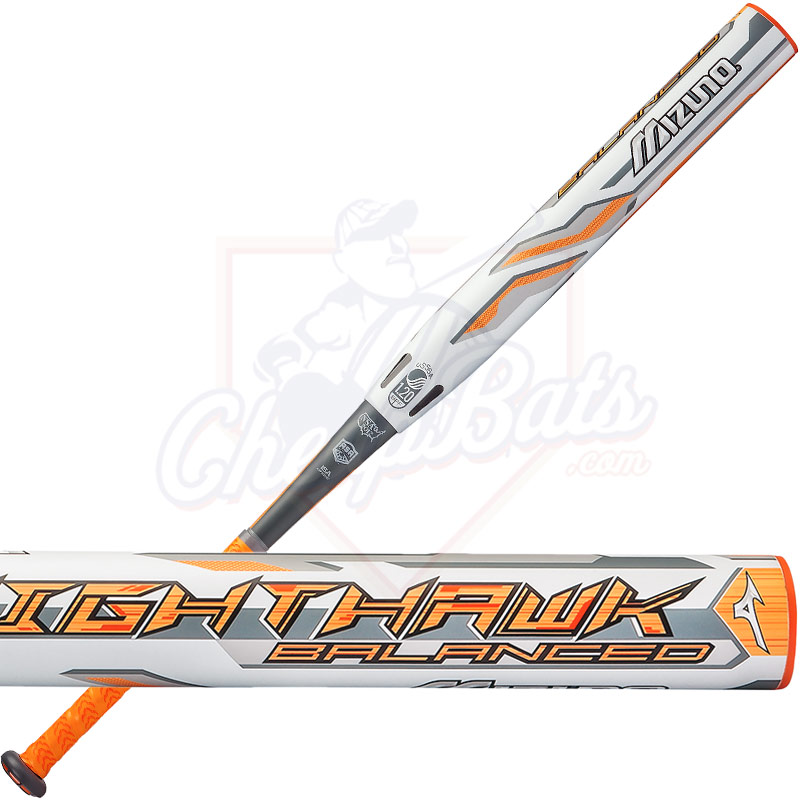 2017 Mizuno Nighthawk Slowpitch Softball Bat ASA/USSSA Balanced 340407