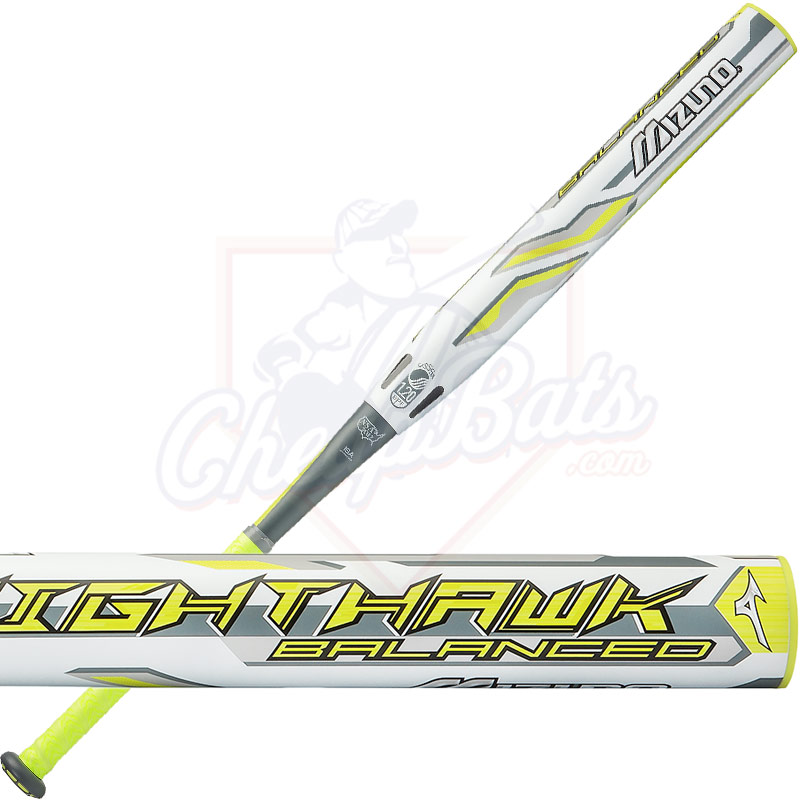 2017 Mizuno Nighthawk Slowpitch Softball Bat USSSA Balanced 340408 b666a037d