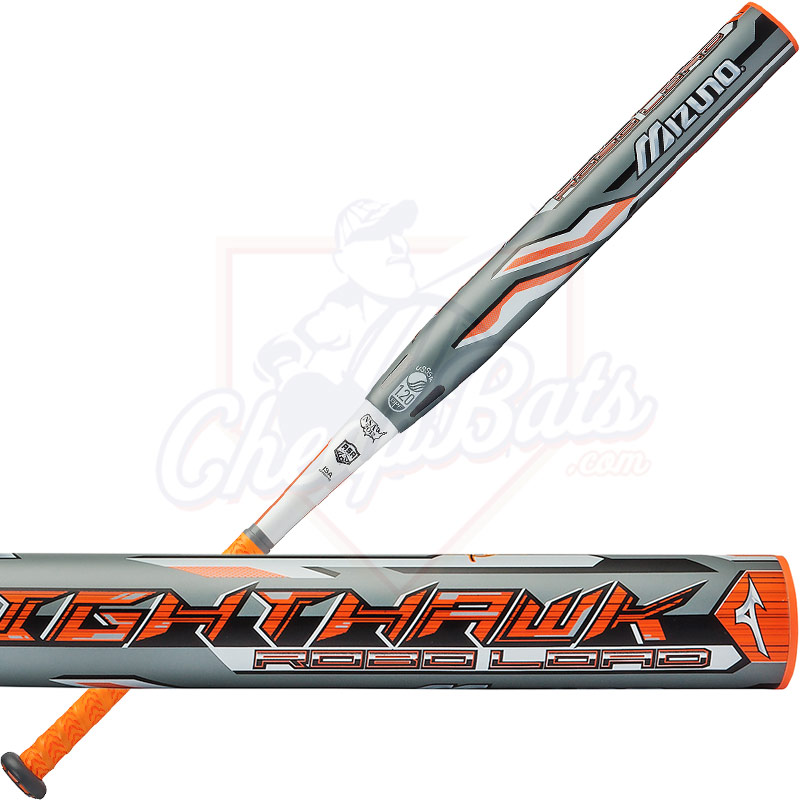 2017 Mizuno Nighthawk Slowpitch Softball Bat ASA/USSSA End Loaded 340409