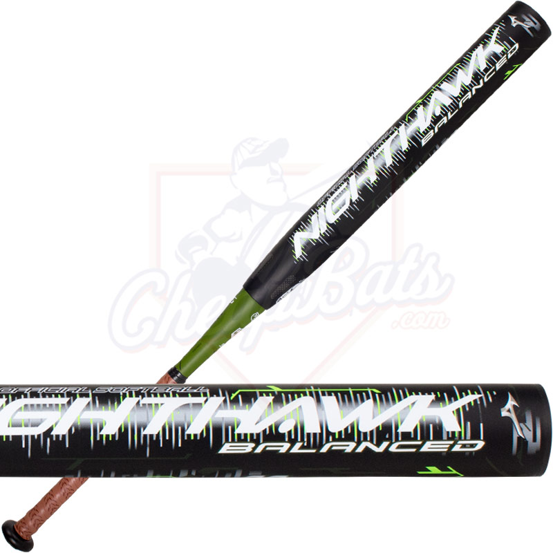 2018 Mizuno Nighthawk Slowpitch Softball Bat Balanced ASA USSSA 340458