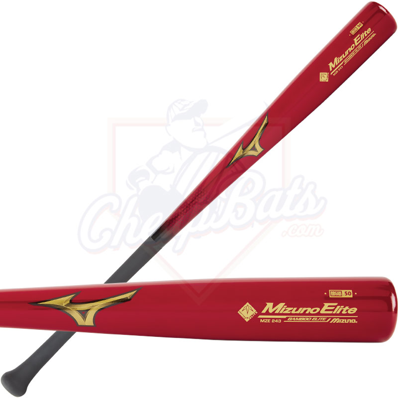 Mizuno Elite MZE243 Composite Bamboo Wood BBCOR Baseball Bat -3oz 340463