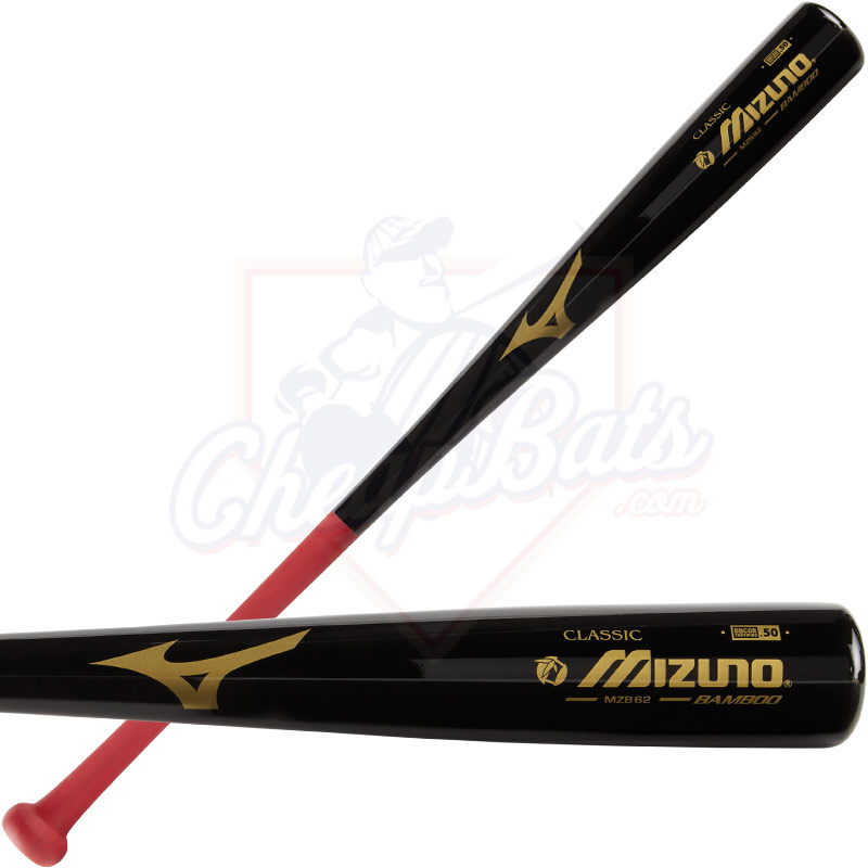 Mizuno Classic MZB62 Bamboo Wood BBCOR Baseball Bat -3oz 340466