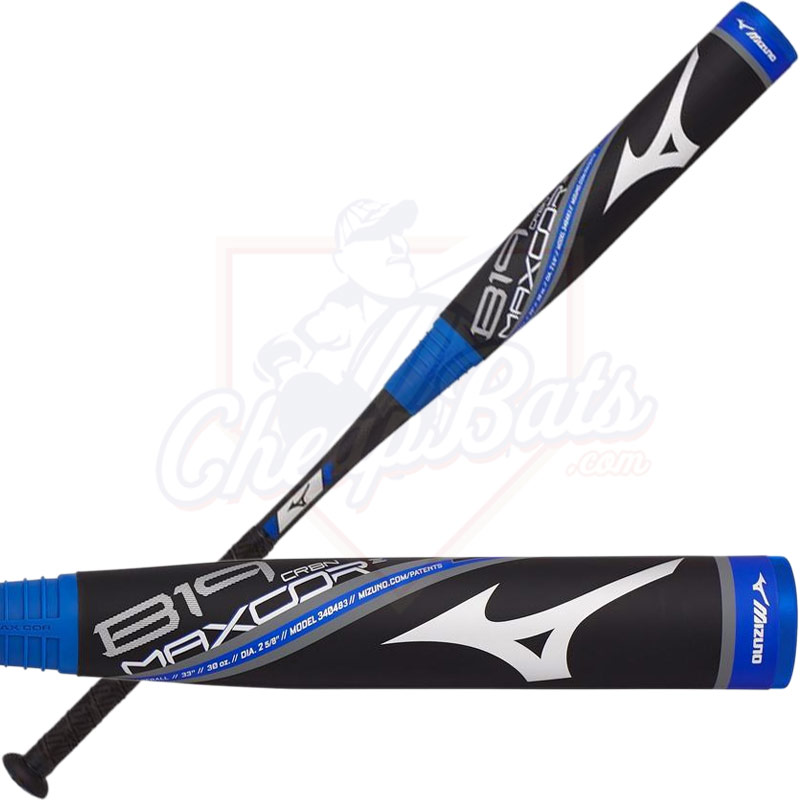2019 Mizuno B19 Maxcor Youth USA Baseball Bat -5oz 340484