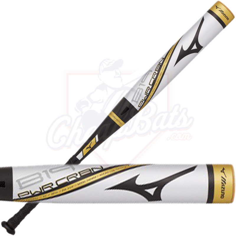 2019 Mizuno B19 Power Carbon Youth USA Baseball Bat -10oz 340485