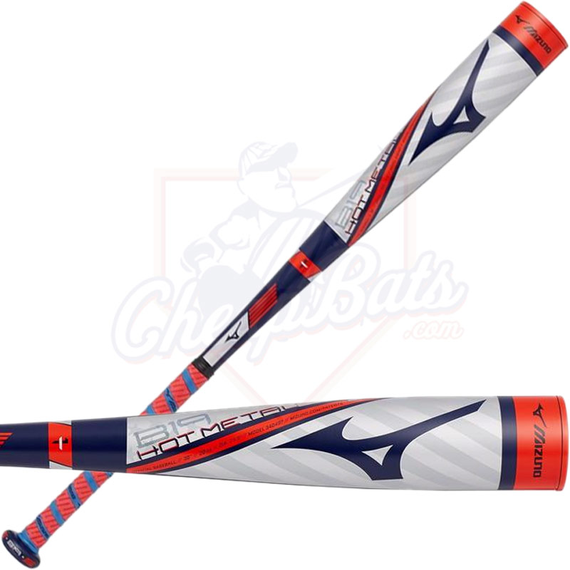 2019 Mizuno B19 Hot Metal Youth USA Baseball Bat -5oz 340488