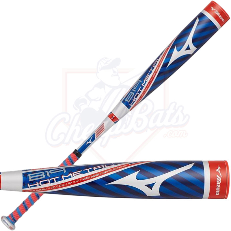 2019 Mizuno B19 Hot Metal Youth USSSA Baseball Bat -10oz 340491