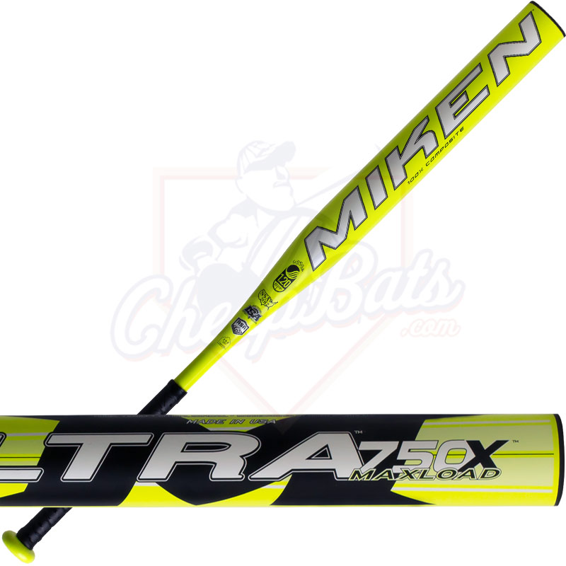 2016 Miken Ultra 750X Slowpitch Softball Bat Maxload ASA USSSA 75XULT