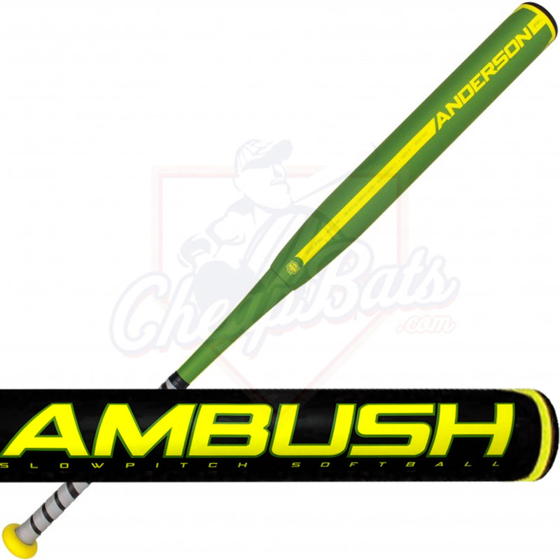 2017 Anderson Ambush Slowpitch Softball Bat ASA Balanced 011041