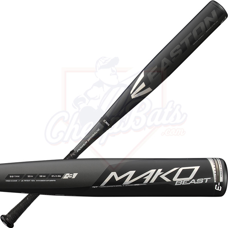 2017 Easton Mako Beast BBCOR Baseball Bat -3oz BB17MK