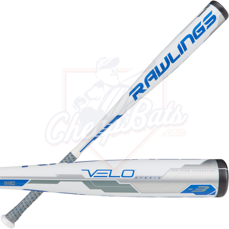 2018 Rawlings Velo BBCOR Baseball Bat -3oz BB8V3