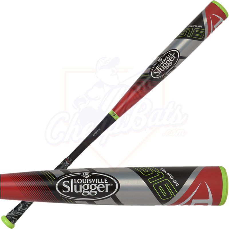 "2016 Louisville Slugger OMAHA 516 Youth Big Barrel Baseball Bat 2 3/4"" -10oz SLO516X"
