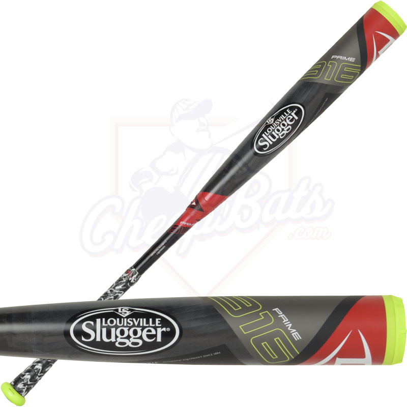 "2016 Louisville Slugger PRIME 916 Youth Big Barrel Baseball Bat 2 3/4"" -10oz SLP916X"