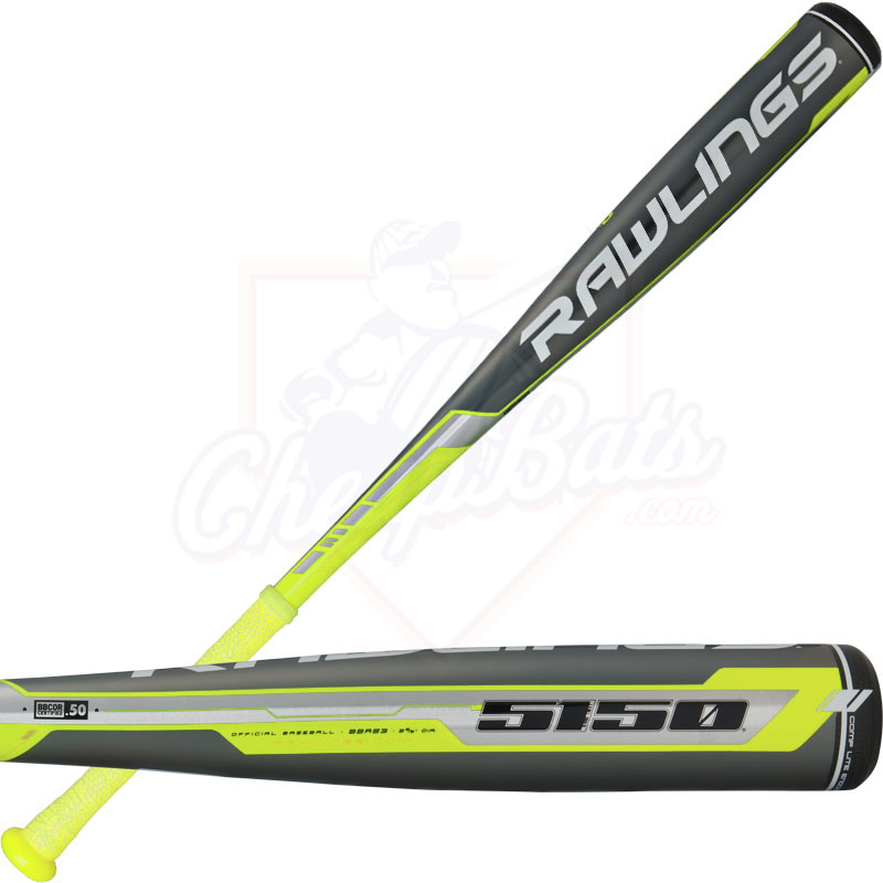 2016 Rawlings 5150 BBCOR Baseball Bat -3oz BBR53