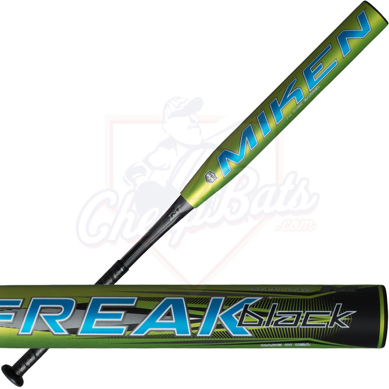 2016 Miken Freak Black Slowpitch Softball Bat Maxload ASA BLCKMA