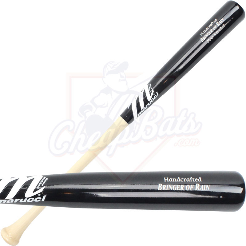 "Marucci Josh Donaldson ""Bringer of Rain\"" Youth Maple Wood Baseball Bat MYVEIBOR-N/BK"